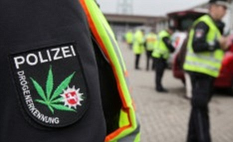 germany police cannabis