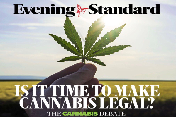uk evening standard cannabis